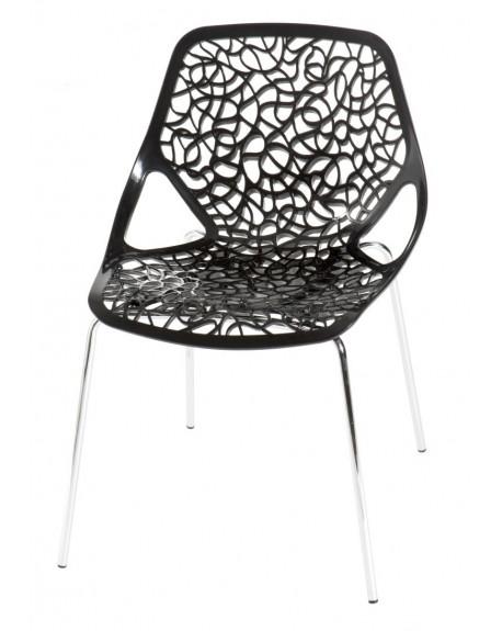 Krzesło Cepelia czarne