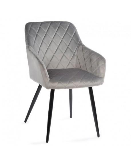 Krzesło welwet pikowane Darya