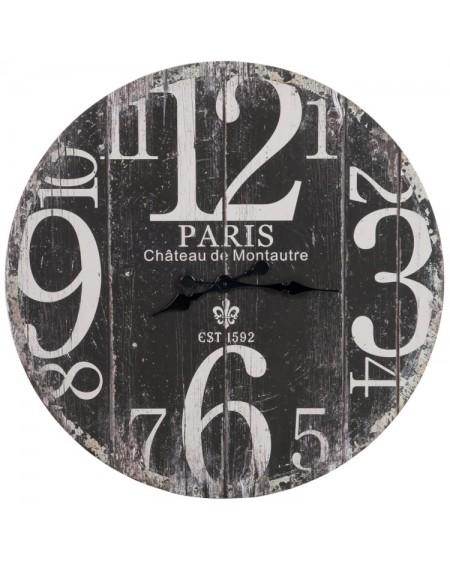 Zegar drewniany Paris 1592 czarny