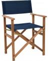 Krzesło reżyserskie Lagoon niebieskie