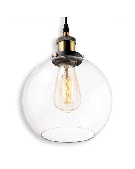 Lampa wisząca New York Loft 2 czarny