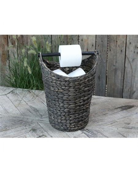 Kosz z trawy morskiej na papier toaletowy