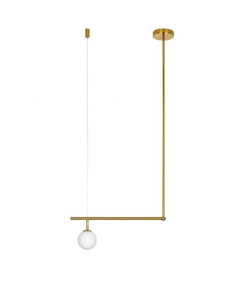 Lampa wisząca ASTRA 1 antyczny mosiądz