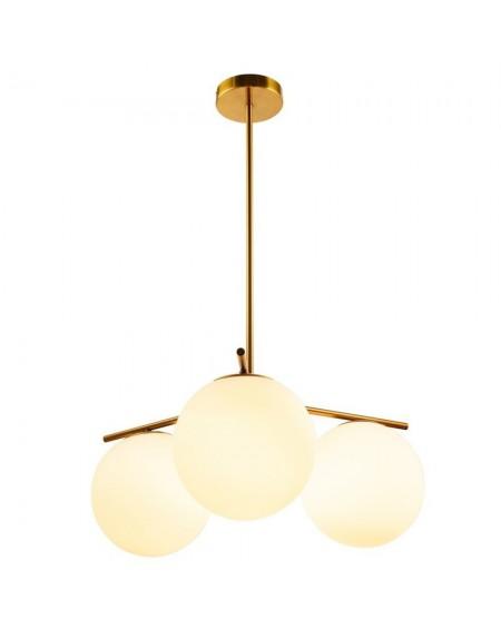 Lampa wisząca VENUS-3 mosiądz