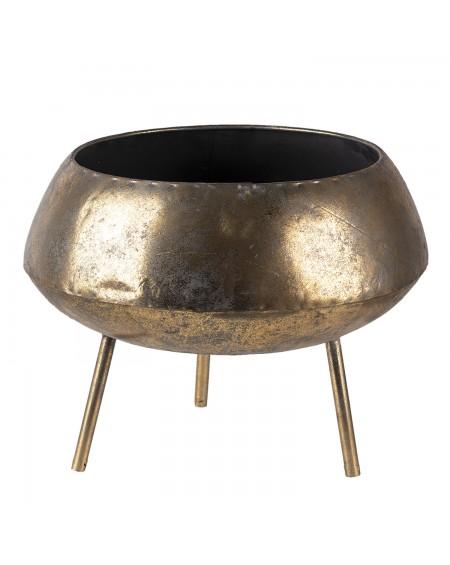 Osłonka na nóżkach stare złoto 68 cm