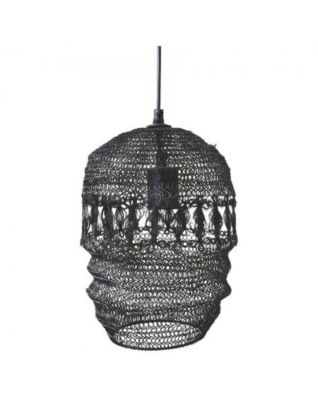 Lampa wisząca z metalowej siatki Fer I