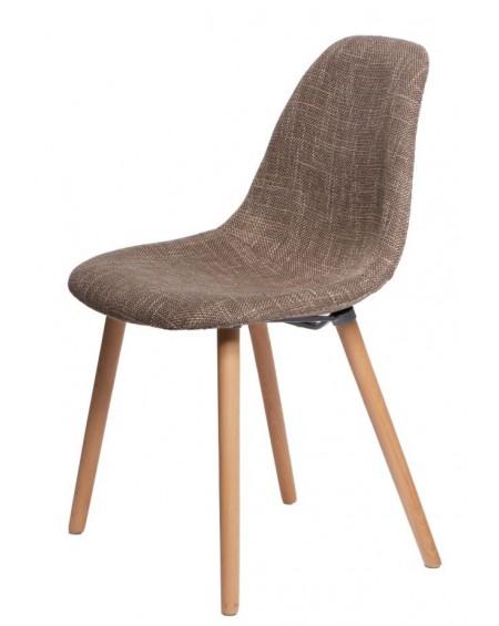 Krzesło Cosy brązowe