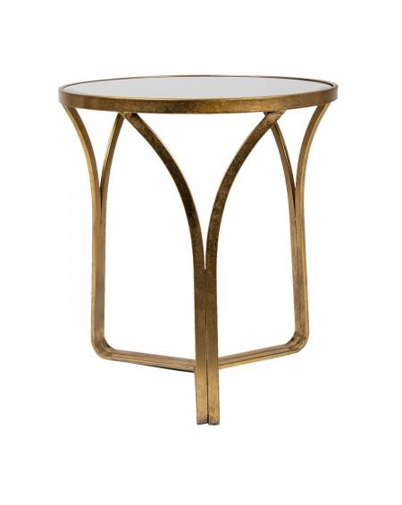 Stolik kawowy złoty Momo