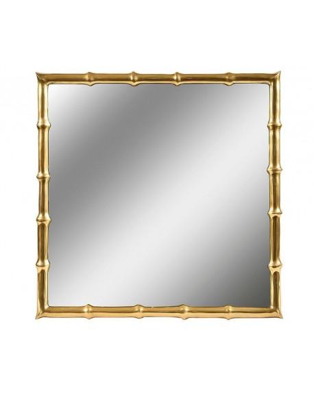 Lustro kwadratowe Bamboo Gold