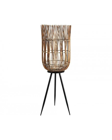 Lampion bambusowy na nóżkach Etno