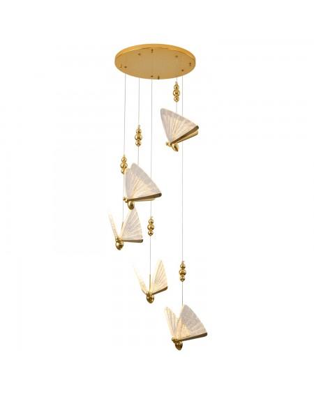 Lampa wisząca BEE LAMP 5 LED 45 cm