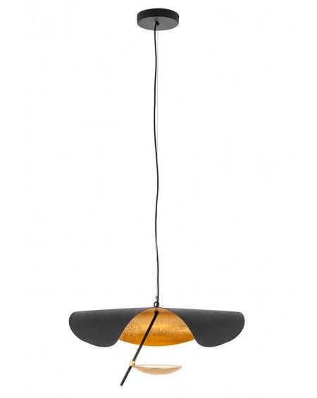 Lampa wisząca STING RAY 60 czarno-złota