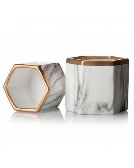 Osłonka ceramiczna geometryczna Clara 14,5 cm