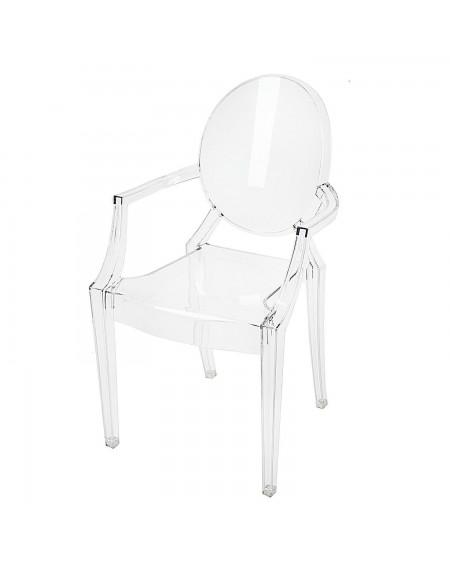 Krzesło Clear poliwęglan