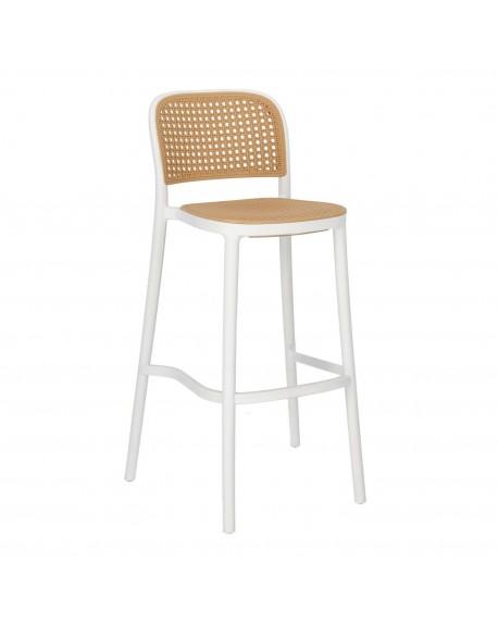 Krzesło barowe plecionka wiedeńska Antonio