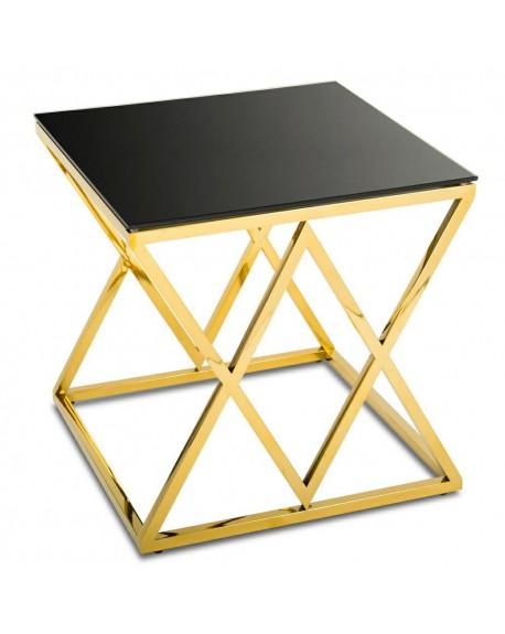 Stolik kawowy metal Salphi 55 cm