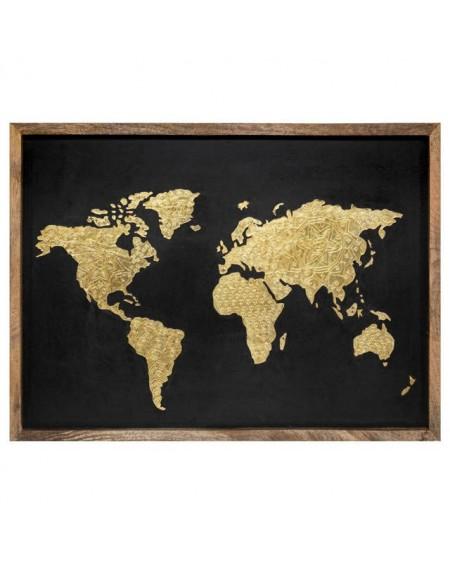 Dekoracja ścienna IKARITA - mapa świata