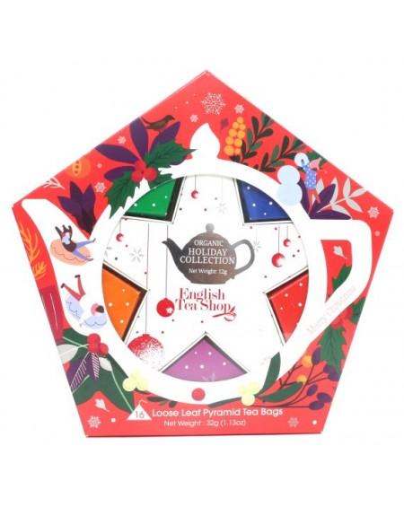 Herbata organiczna RED & SILVER STAR PACK 16 CT