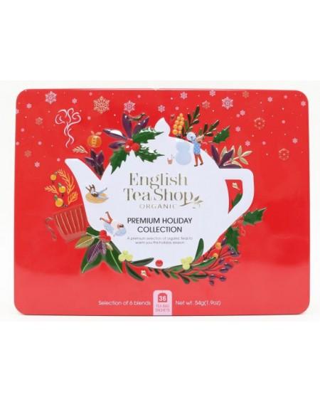 Herbata eko puszka Premium Holiday Collection Red – 36