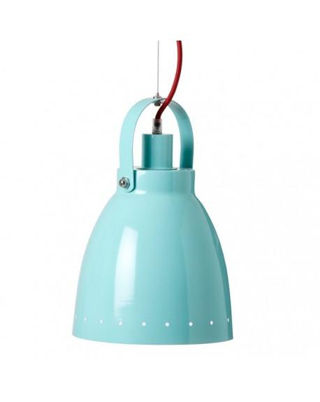 Lampa wisząca niebieska