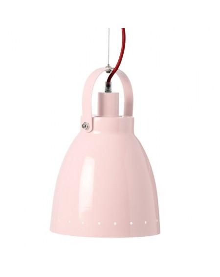Lampa wisząca różowa