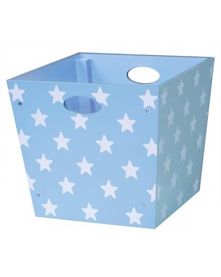 Pudełko w gwiazdki niebieskie