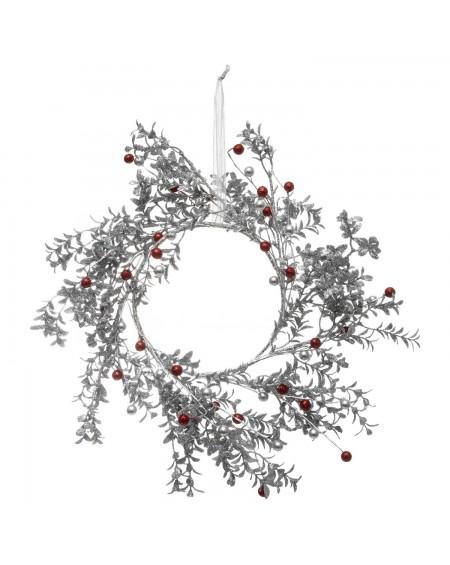 Wianek stroik świąteczny 44 cm