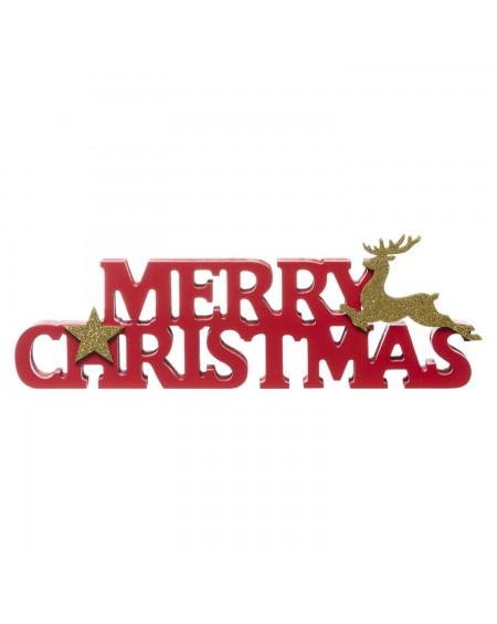 Napis ozdobny Merry Christmas 27 cm