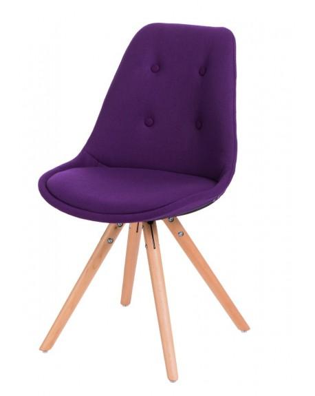 Krzesło Nord Star pikowane fioletowe