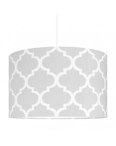 Lampa wisząca Moroccan szara