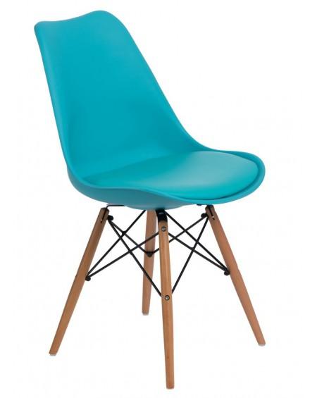 Krzesło Nord niebieskie