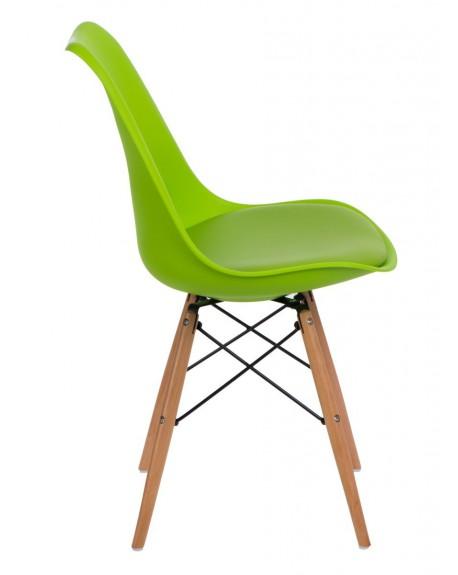 Krzesło Nord zielone