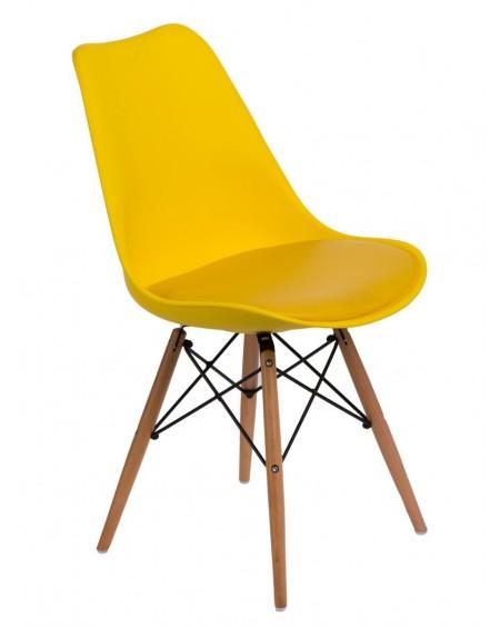 Krzesło Nord żółte