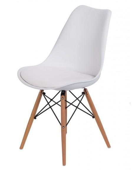 Krzesło Nord białe