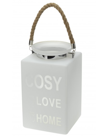 Lampion szklany COSY LOVE HOME