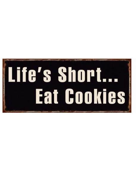 Szyld metalowy Cookies