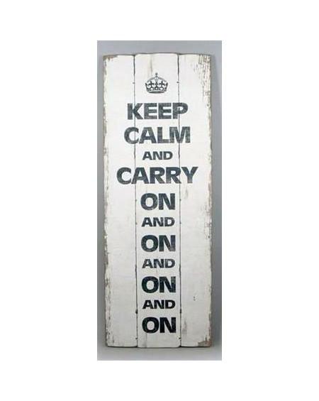 Szyld drewniany Keep Calm