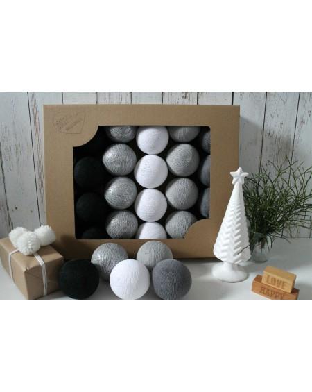 Cotton Balls Silver Winter 10 szt.