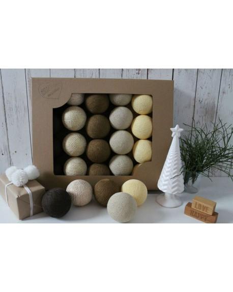 Cotton Balls X-MAS 10 szt.