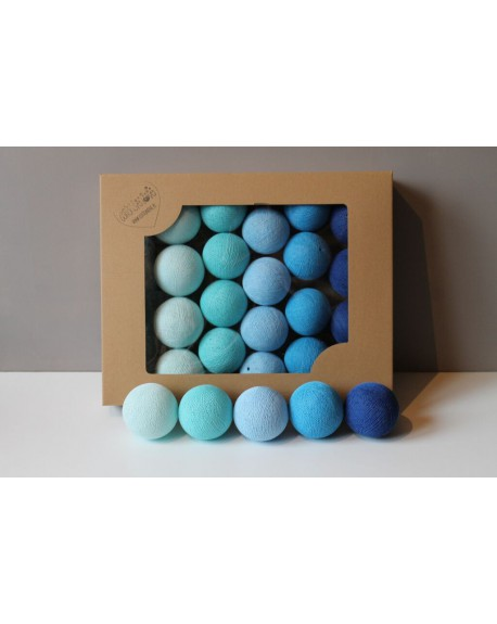 Cotton Balls Blue 20 szt.