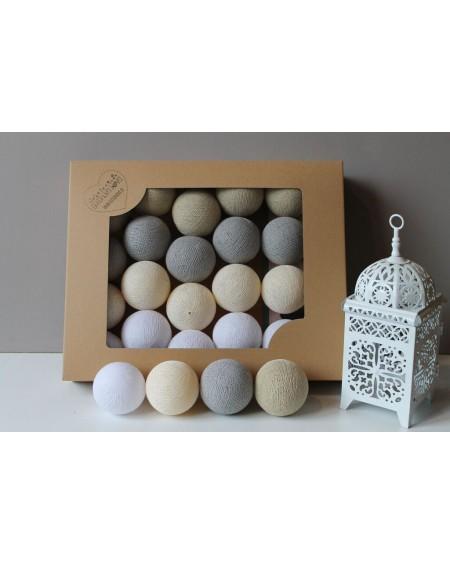 Cotton Balls Shiny Sand 20 szt.