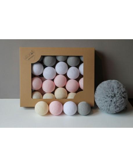 Cotton Balls White Pastel 10 szt.