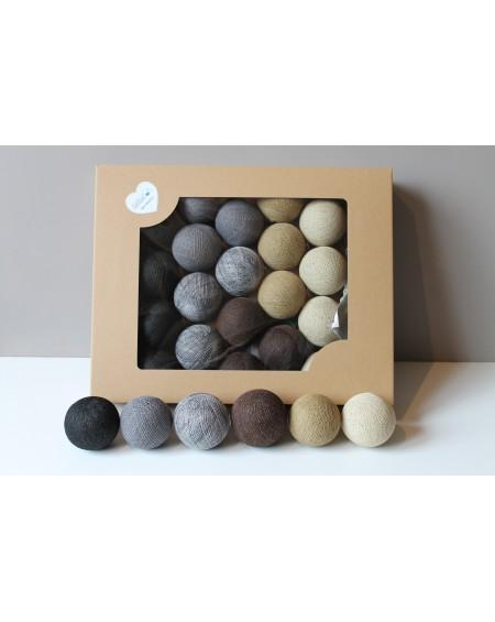 Cotton Balls Natural 10 szt.