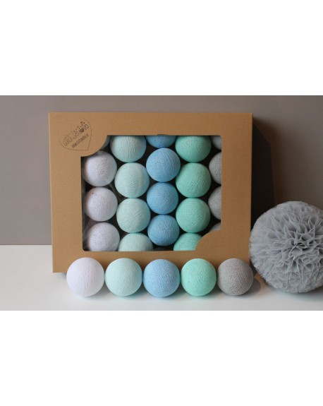 Cotton Balls Mint Pastel 35 szt.