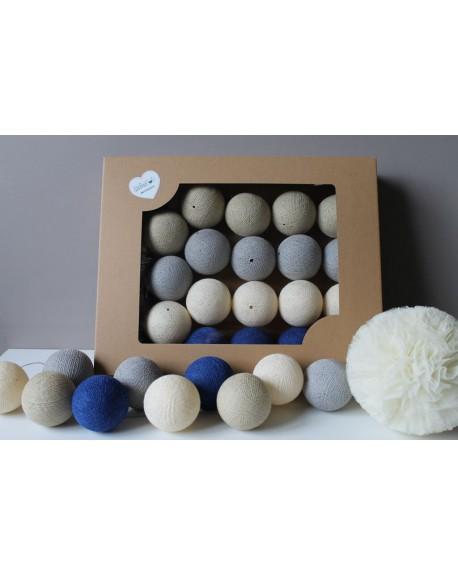 Cotton Balls Royal Sand 35 szt.