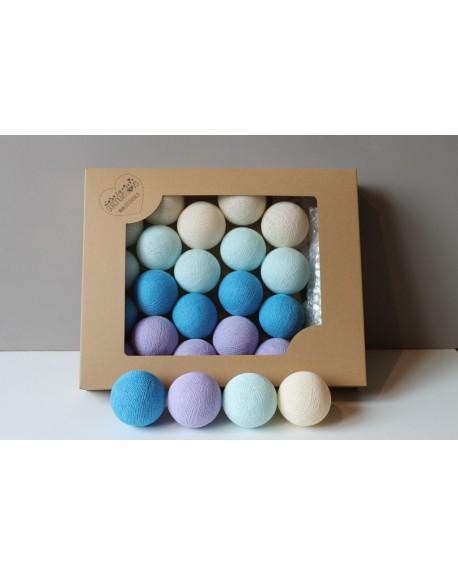 Cotton Balls Lawendove 35 szt.