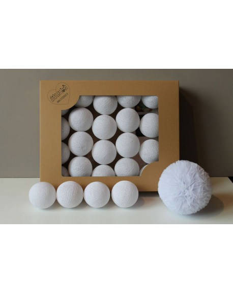 Cotton Balls All White 35 szt.