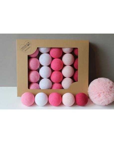 Cotton Balls Sweet Pink 35 szt.