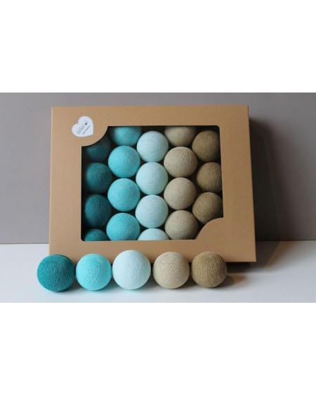 Cotton Balls Turkusove 35 szt.