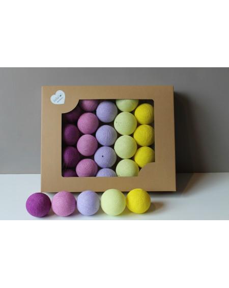 Cotton Balls Krokusove 35 szt.